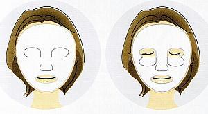ファンケルホワイトニング マスク形状